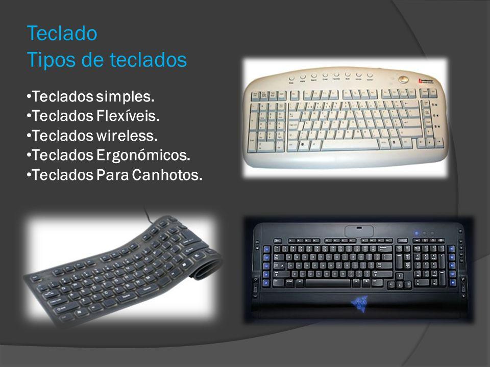 Teclado Tipos de teclados