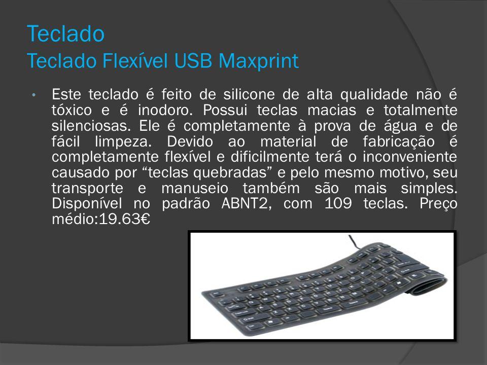 Teclado Teclado Flexível USB Maxprint