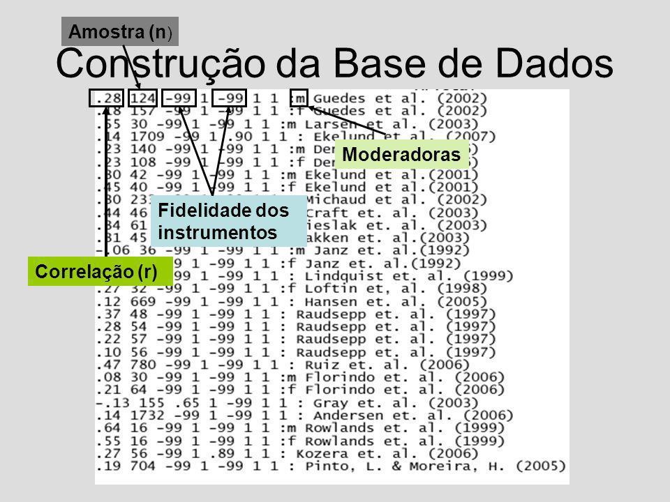 Construção da Base de Dados