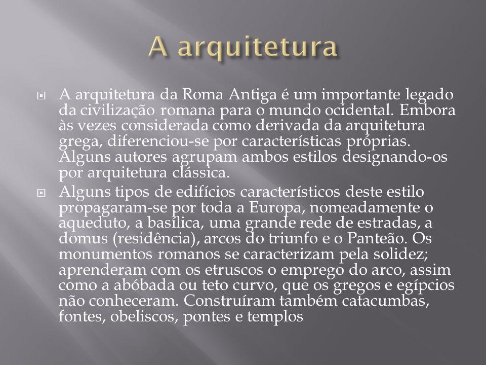 A arquitetura