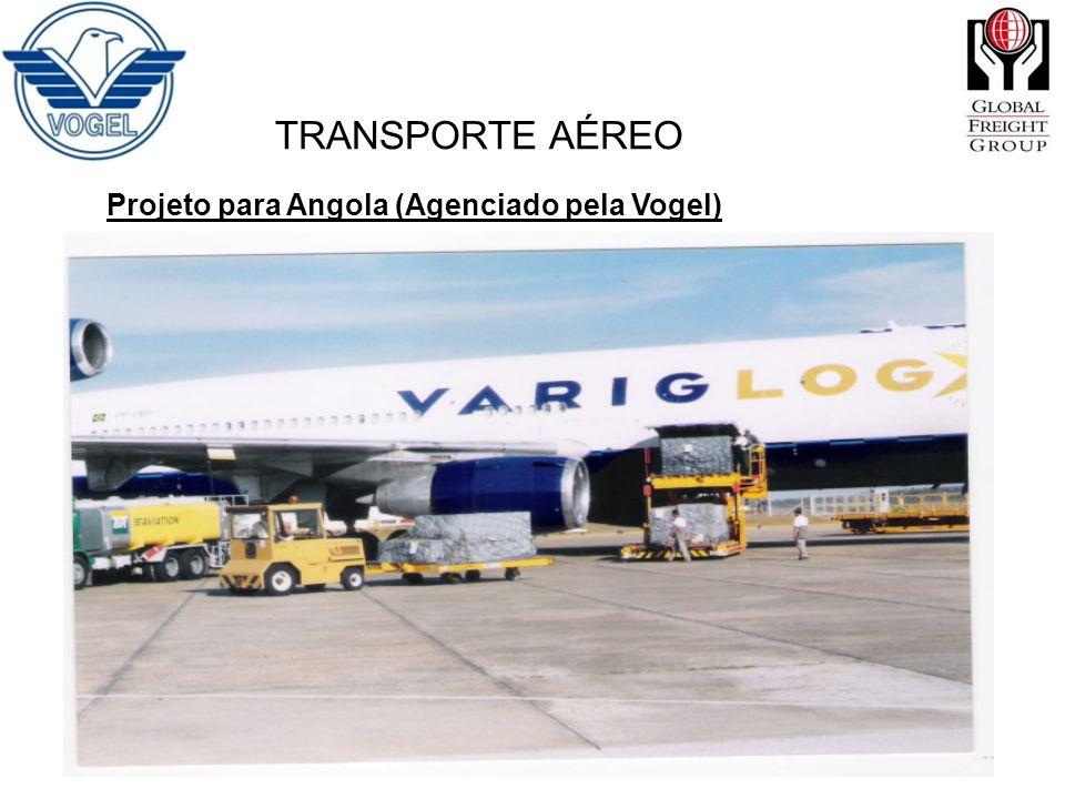 TRANSPORTE AÉREO Projeto para Angola (Agenciado pela Vogel)