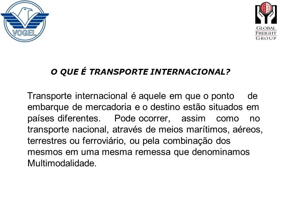 O QUE É TRANSPORTE INTERNACIONAL
