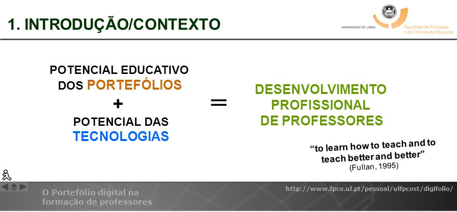 = 1. INTRODUÇÃO/CONTEXTO DESENVOLVIMENTO PROFISSIONAL DE PROFESSORES