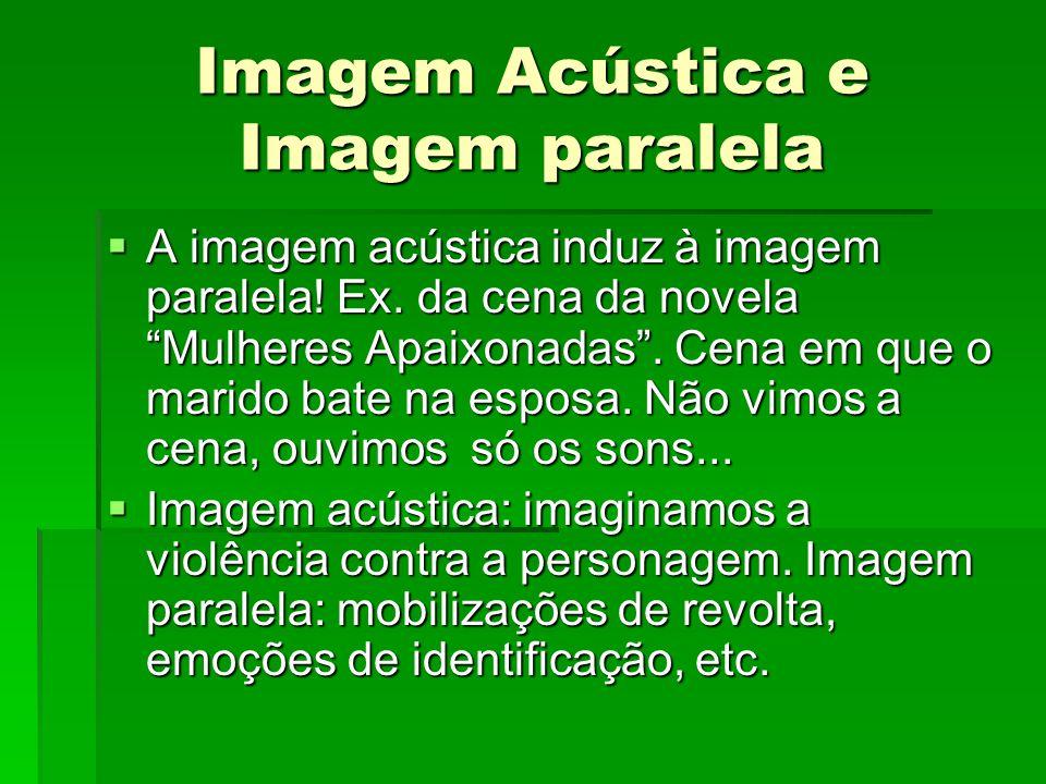Imagem Acústica e Imagem paralela