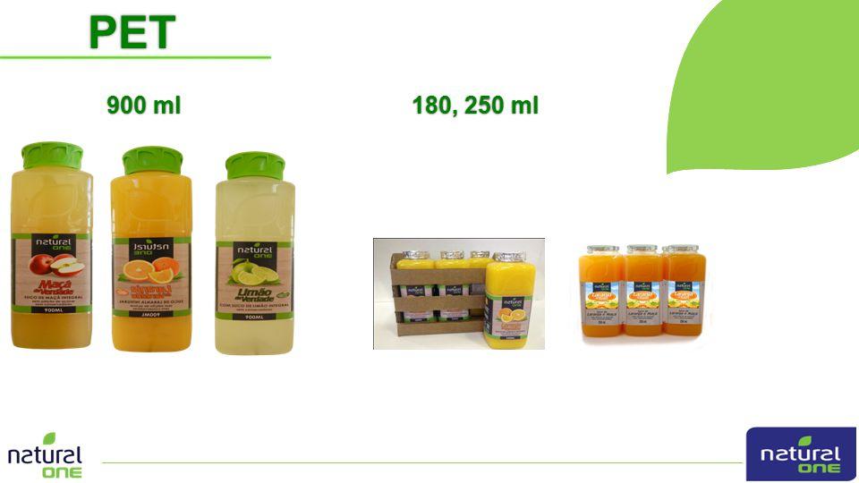 PET 900 ml 180, 250 ml