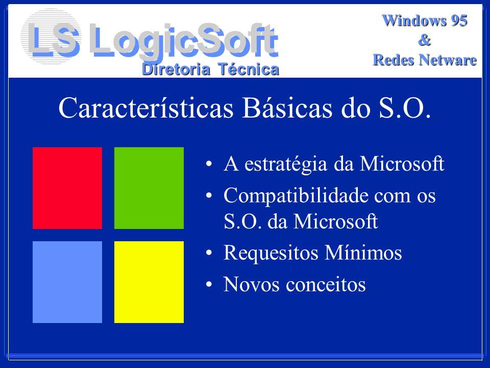 Características Básicas do S.O.