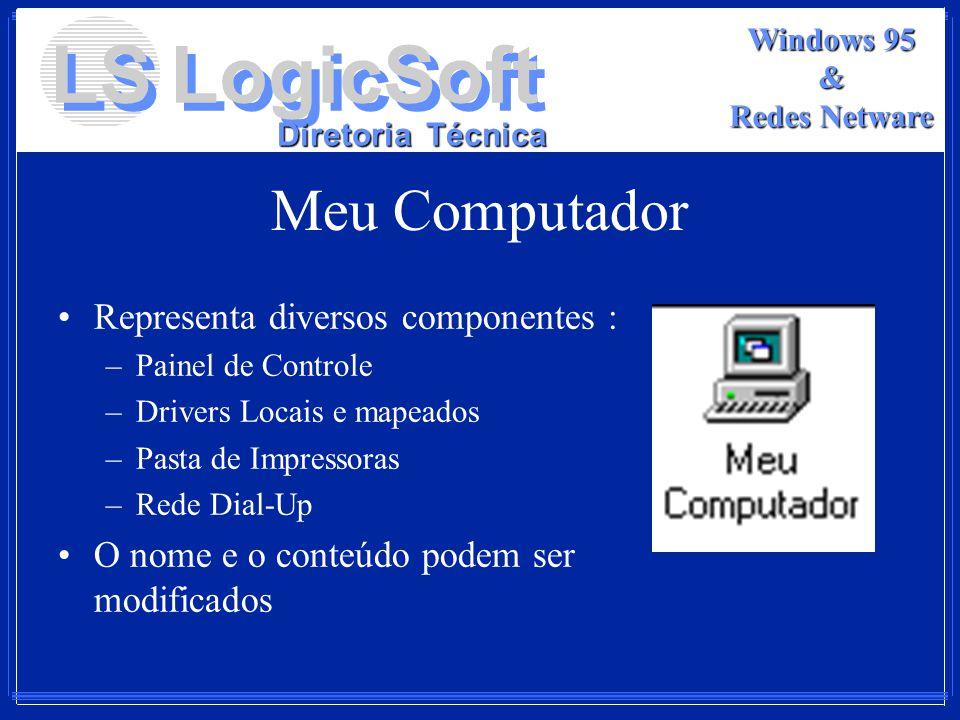 Meu Computador Representa diversos componentes :