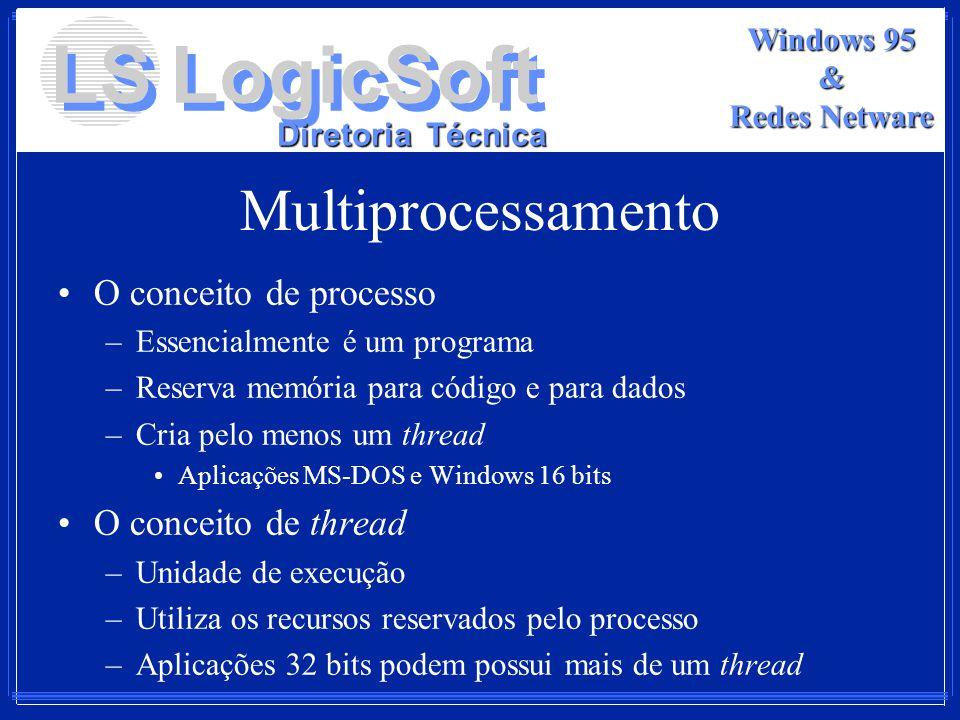 Multiprocessamento O conceito de processo O conceito de thread