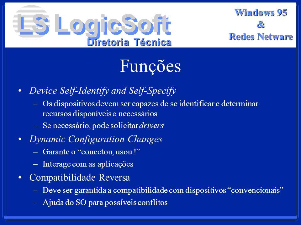 Funções Device Self-Identify and Self-Specify