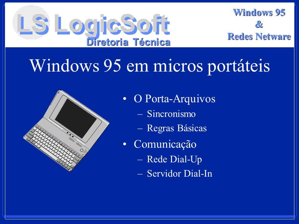 Windows 95 em micros portáteis