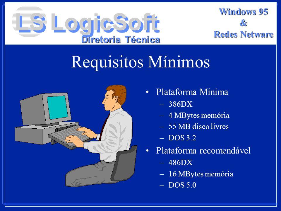 Requisitos Mínimos Plataforma Mínima Plataforma recomendável 386DX