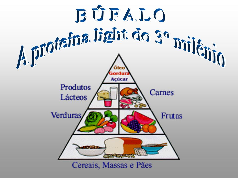 A proteína light do 3º milênio