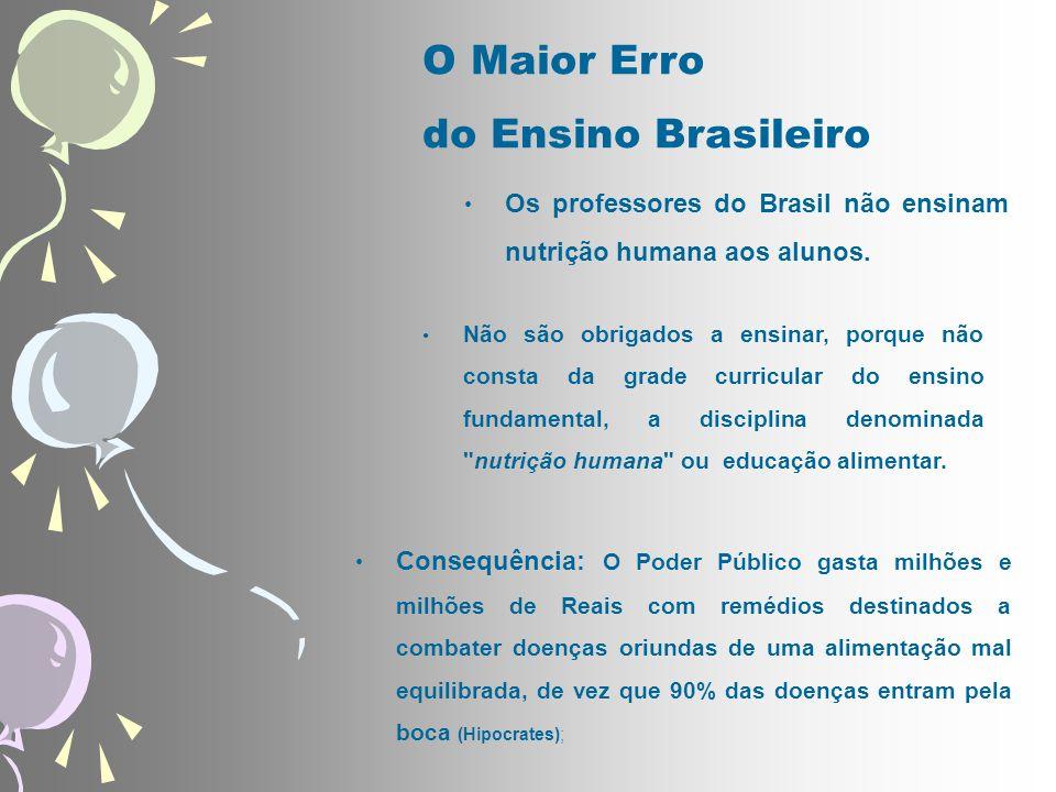 O Maior Erro do Ensino Brasileiro