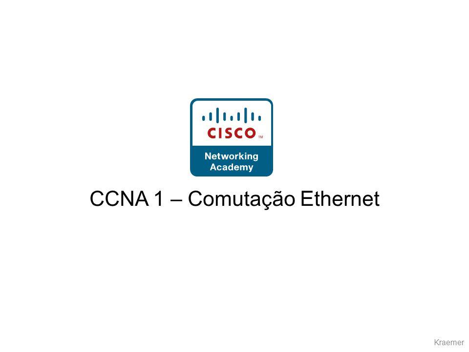 CCNA 1 – Comutação Ethernet