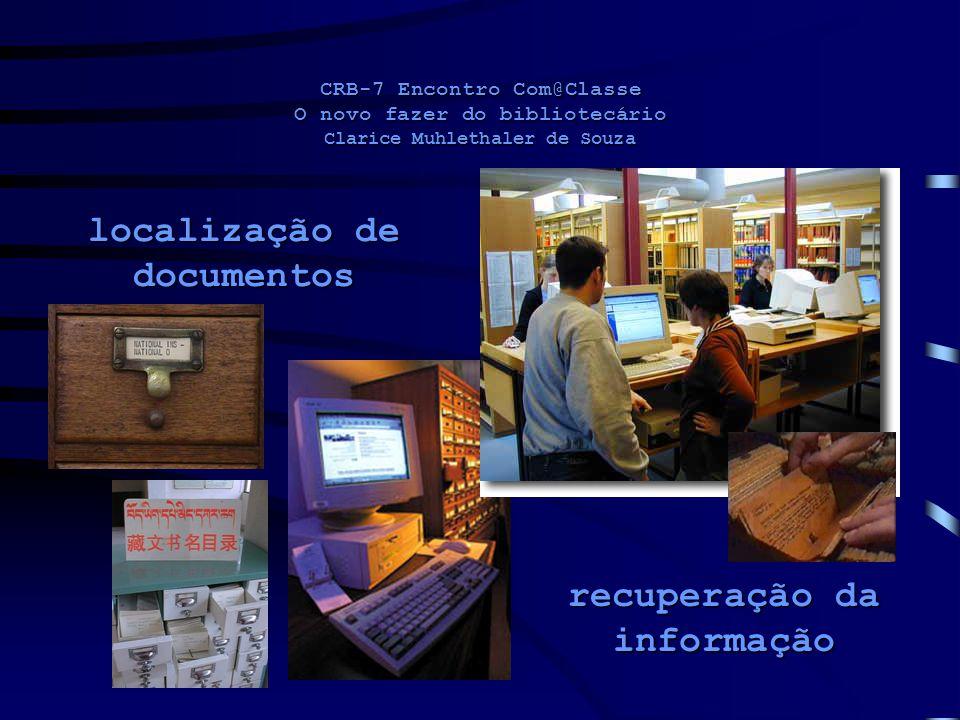 localização de documentos recuperação da informação