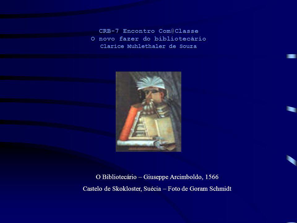 O Bibliotecário – Giuseppe Arcimboldo, 1566