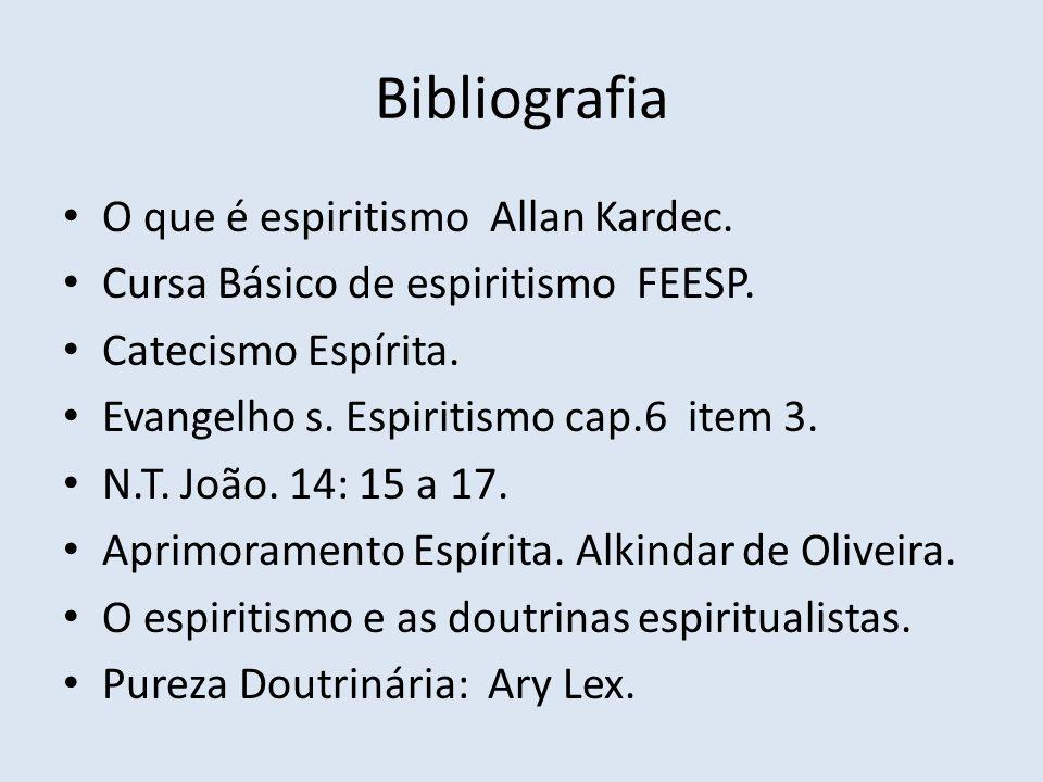 Bibliografia O que é espiritismo Allan Kardec.