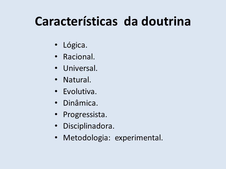 Características da doutrina