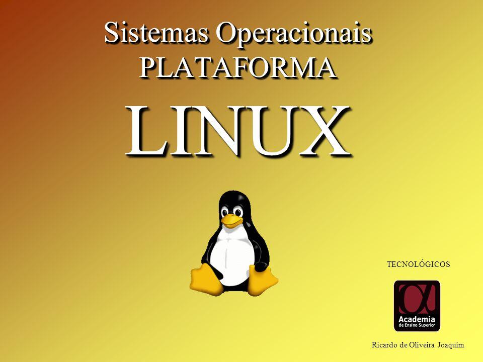 Sistemas Operacionais PLATAFORMA LINUX