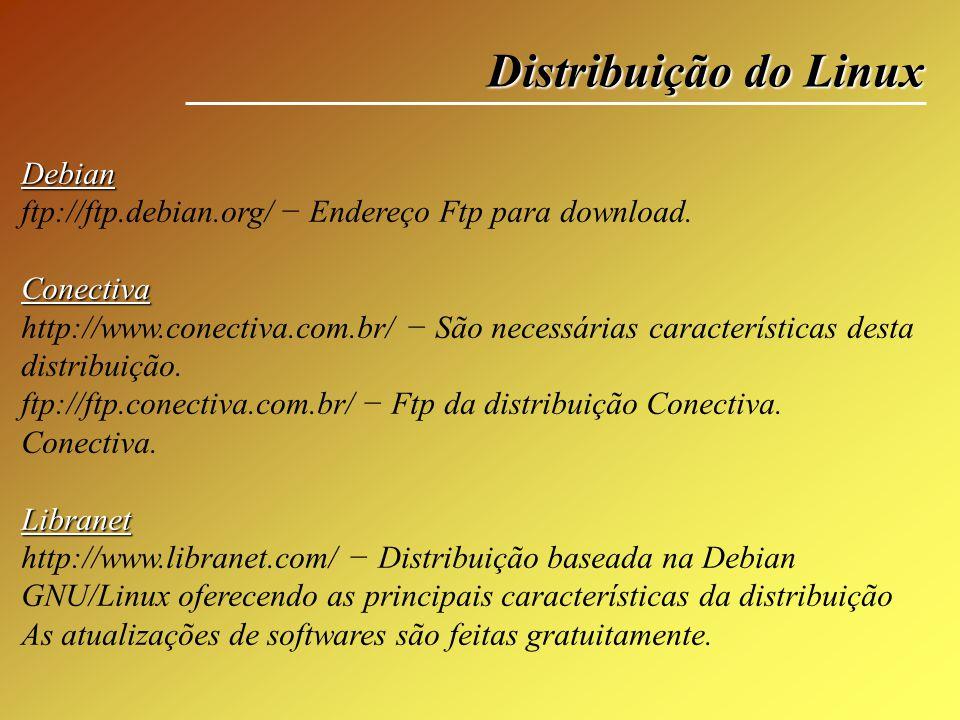 Distribuição do Linux Debian