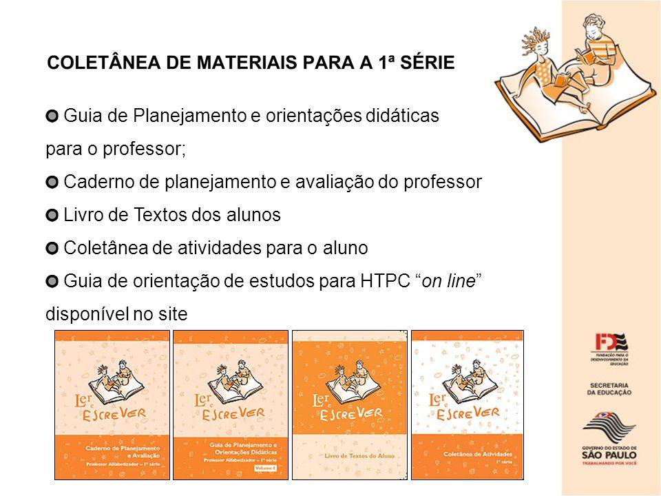 Guia de Planejamento e orientações didáticas