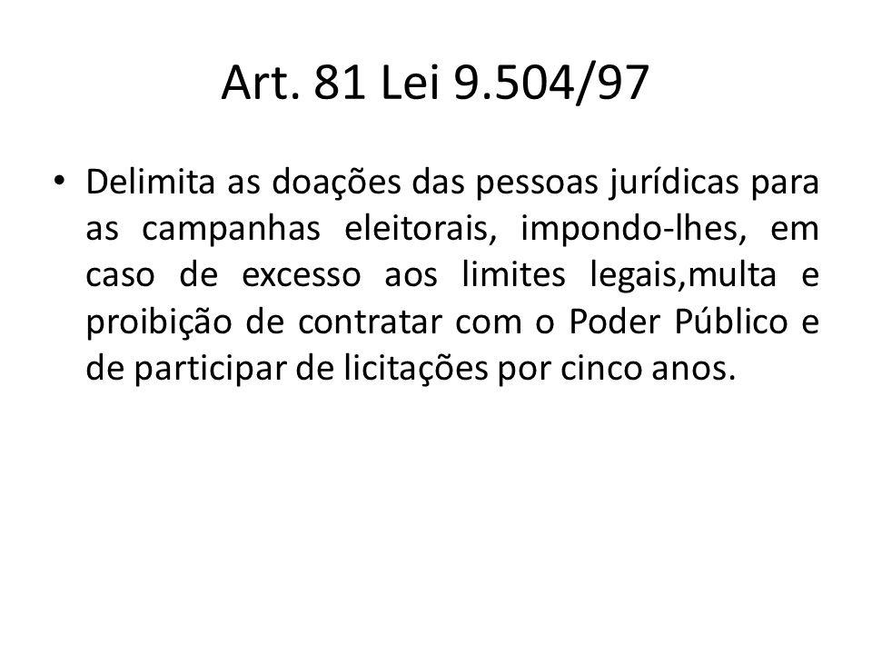 Art. 81 Lei 9.504/97