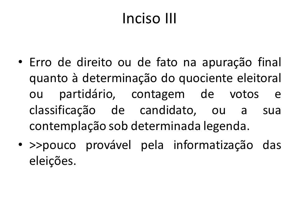Inciso III