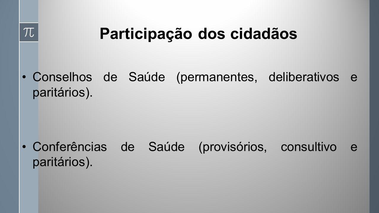 Participação dos cidadãos