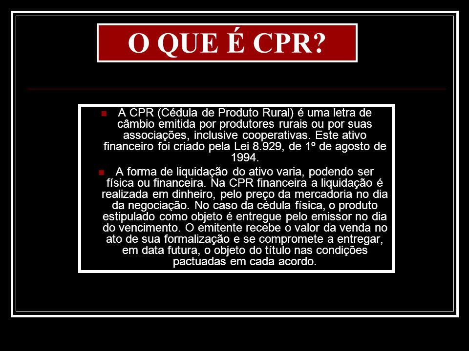 O QUE É CPR
