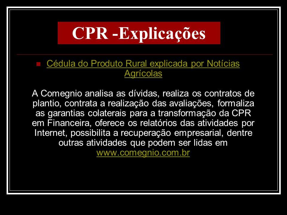CPR -Explicações