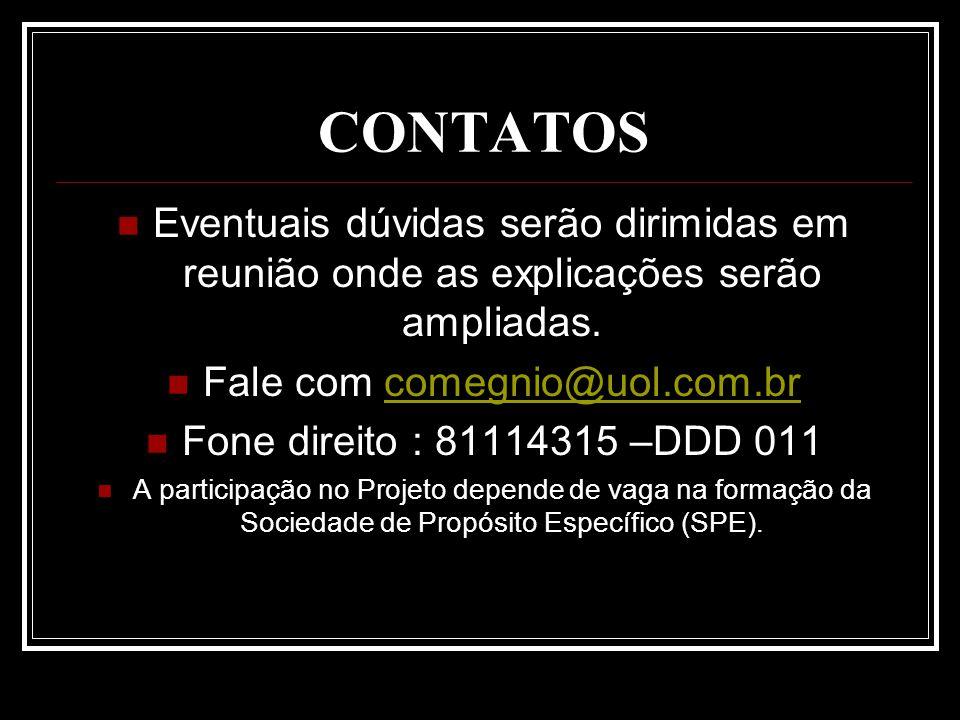Fale com comegnio@uol.com.br