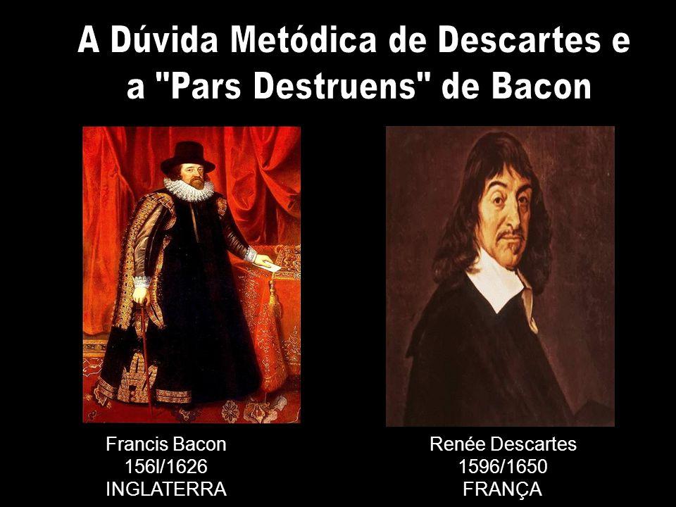 A Dúvida Metódica de Descartes e a Pars Destruens de Bacon