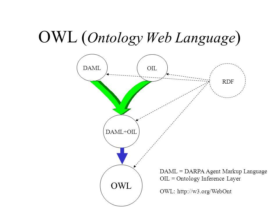 OWL (Ontology Web Language)
