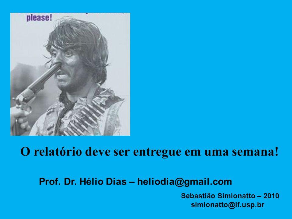Prof. Dr. Hélio Dias – heliodia@gmail.com