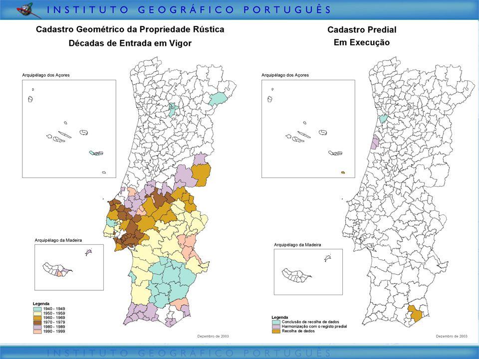 Situação Actual 90.000 Km2 10.000.000 habitantes 308 municípios