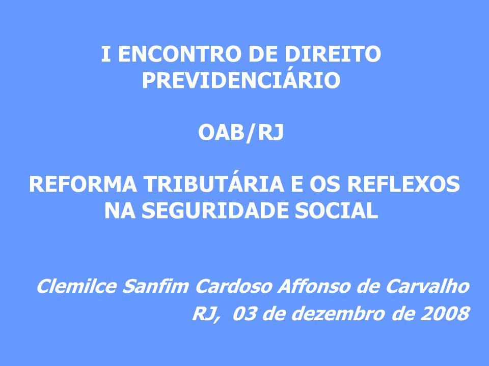 Clemilce Sanfim Cardoso Affonso de Carvalho RJ, 03 de dezembro de 2008