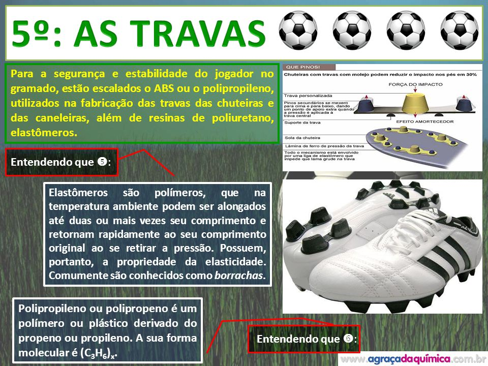 5º: AS TRAVAS