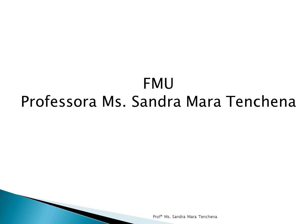 FMU Professora Ms. Sandra Mara Tenchena