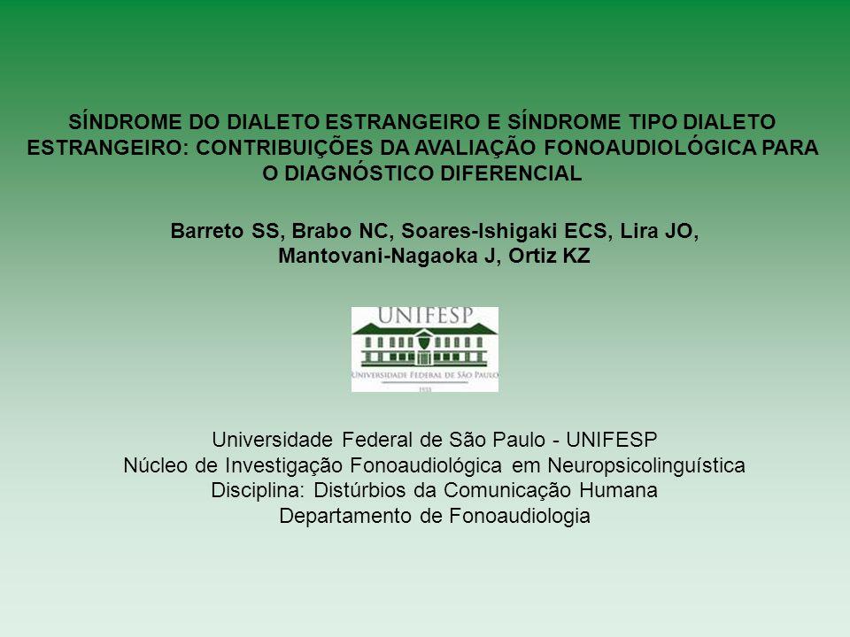 Barreto SS, Brabo NC, Soares-Ishigaki ECS, Lira JO,