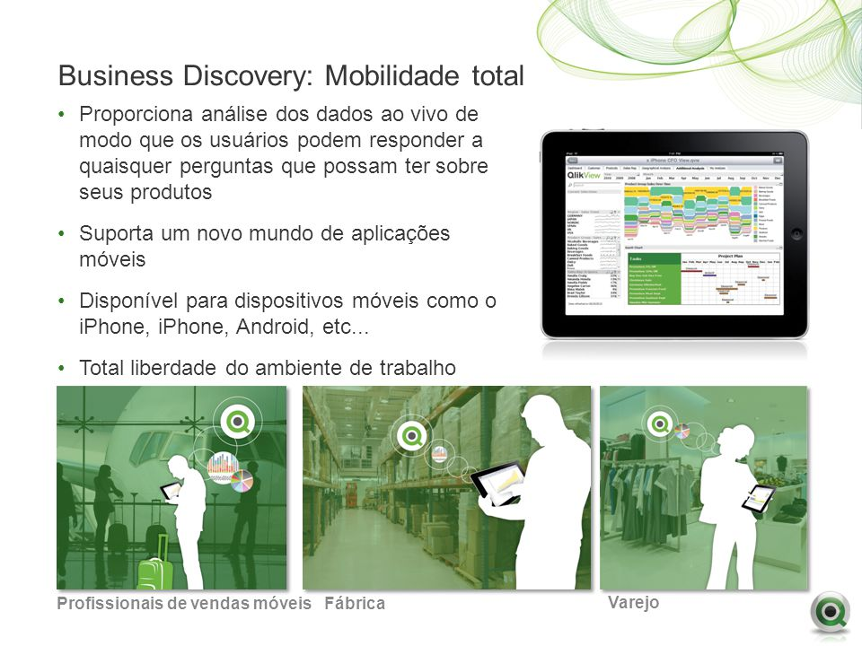 Business Discovery: Mobilidade total