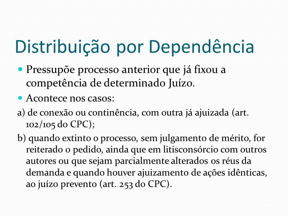 Distribuição por Dependência