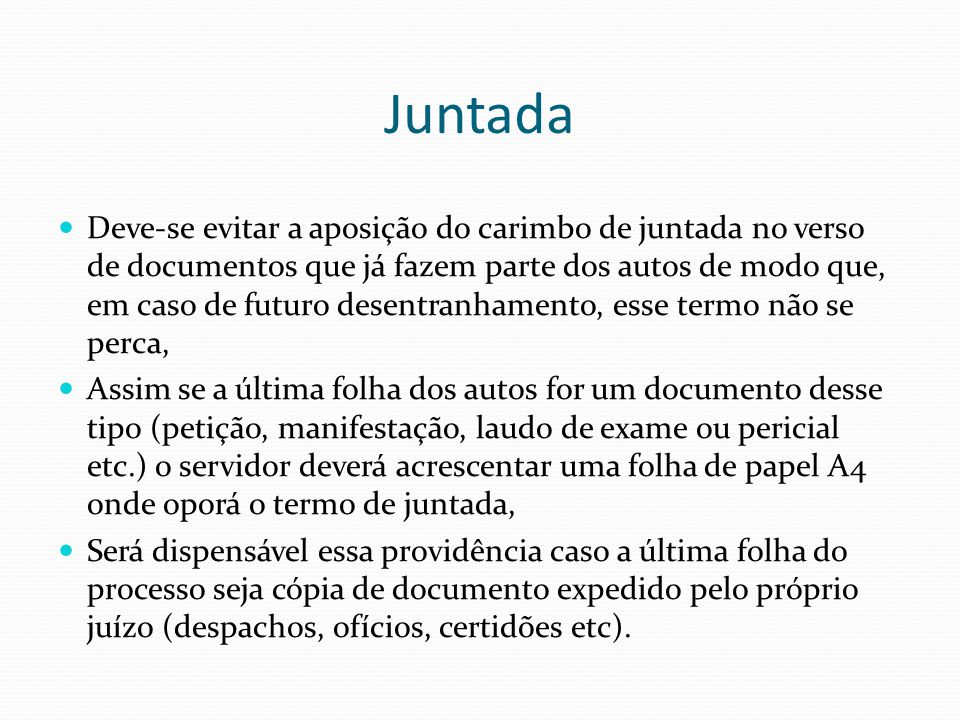 Juntada