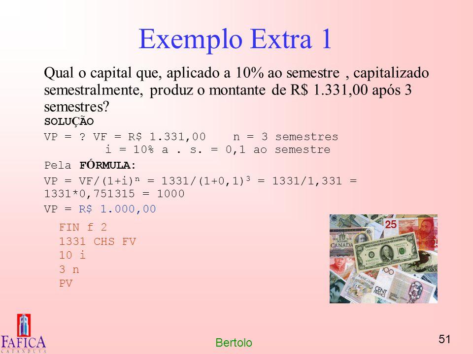Exemplo Extra 1