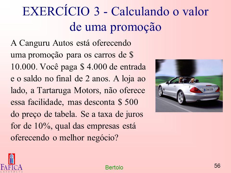 EXERCÍCIO 3 - Calculando o valor de uma promoção