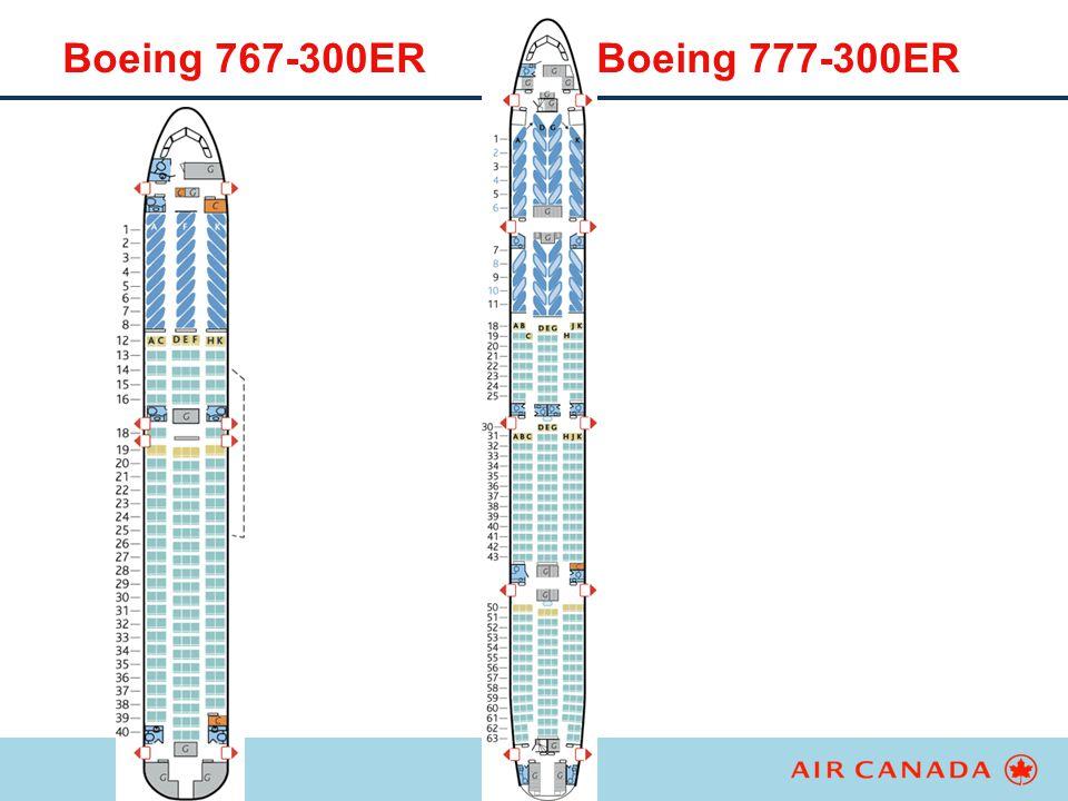 Boeing 767-300ER Boeing 777-300ER