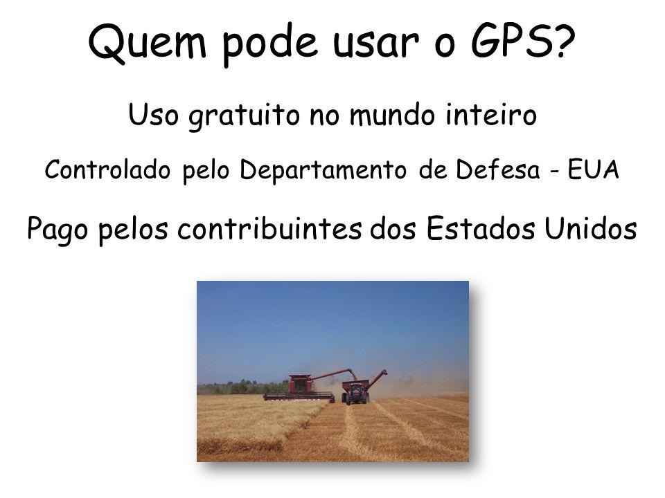 Quem pode usar o GPS Uso gratuito no mundo inteiro