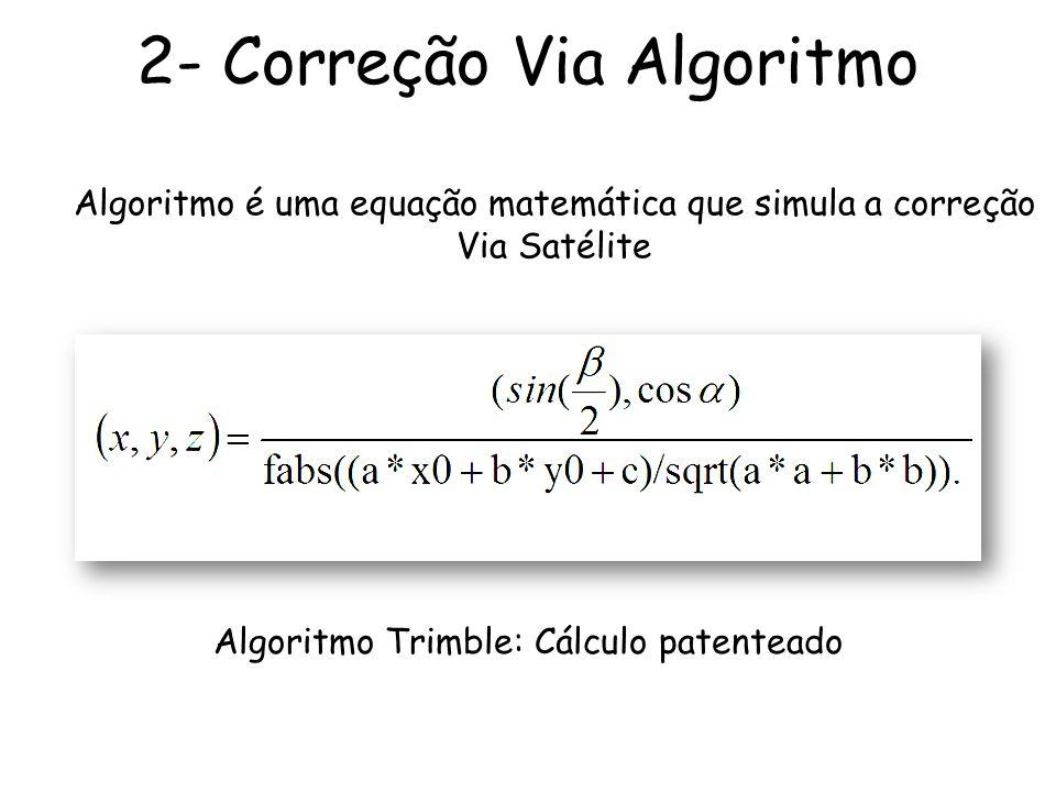 2- Correção Via Algoritmo