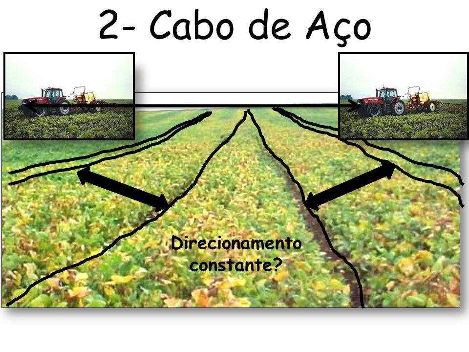 2- Cabo de Aço Direcionamento constante