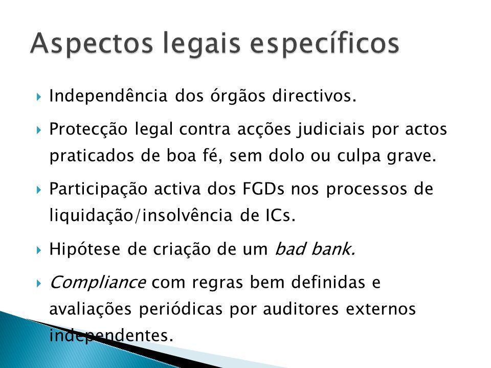 Aspectos legais específicos