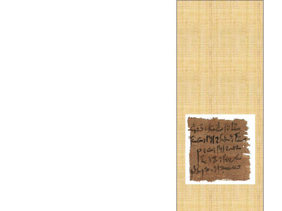 A evolução da escrita em hieróglifos mais simples, a chamada escrita hierática, determinou na pintura uma evolução semelhante, traduzida em um processo de abstração. Esse obras menos naturalistas, pela sua correspondência estilística com a escrita, foram chamadas, por sua vez, de Pinturas Hieráticas.